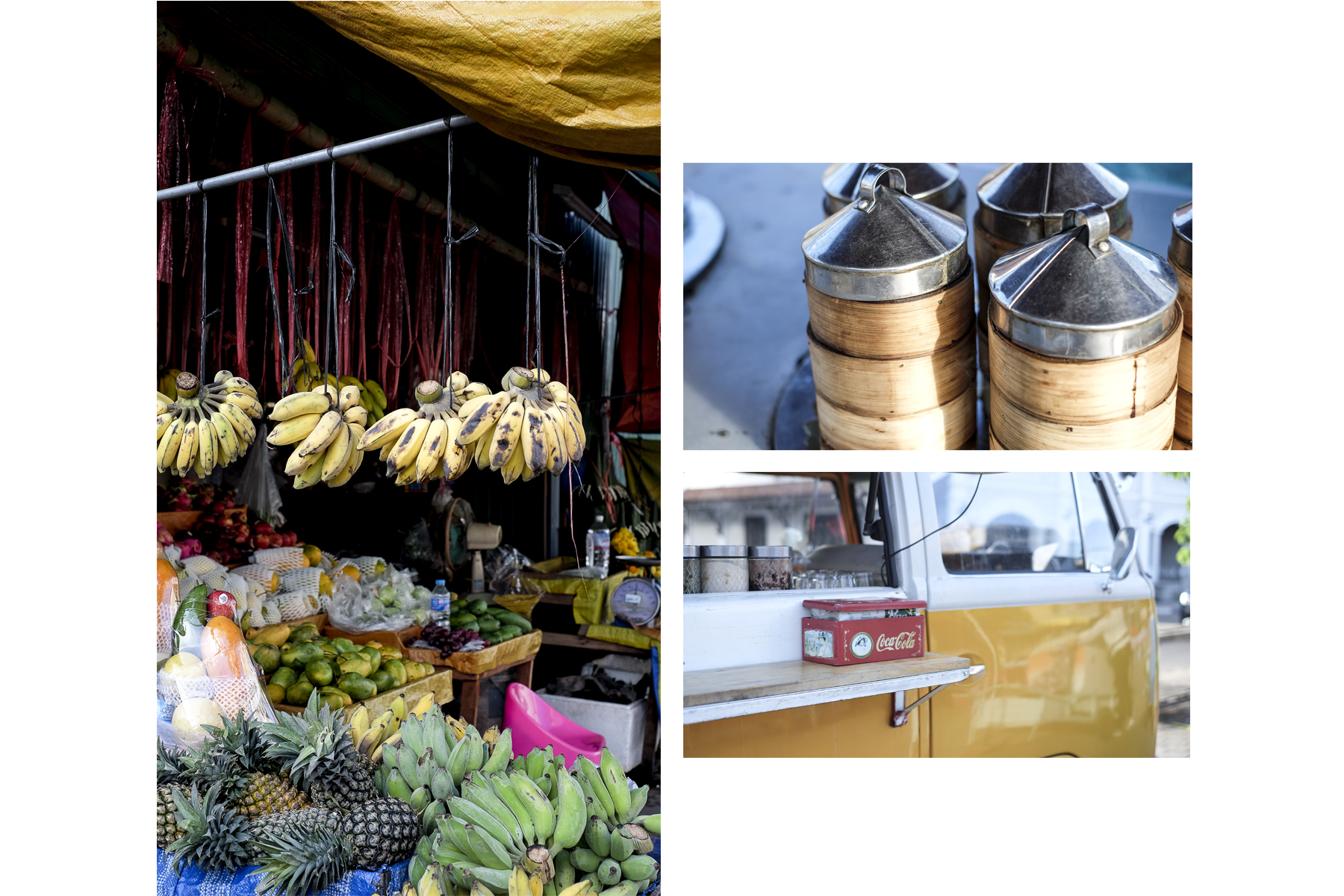 At the night market of Savannakhet