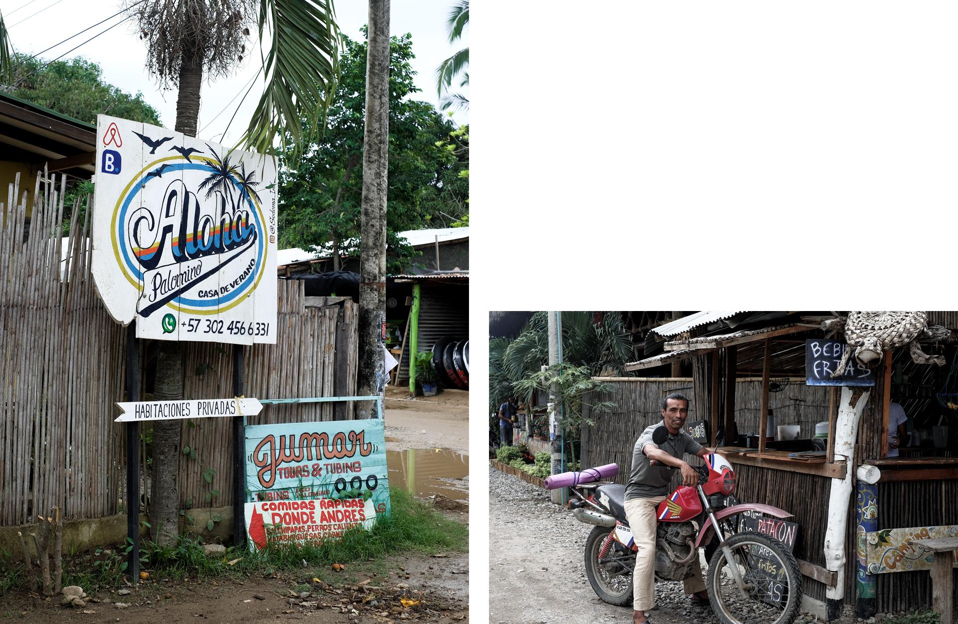 village man motorbike