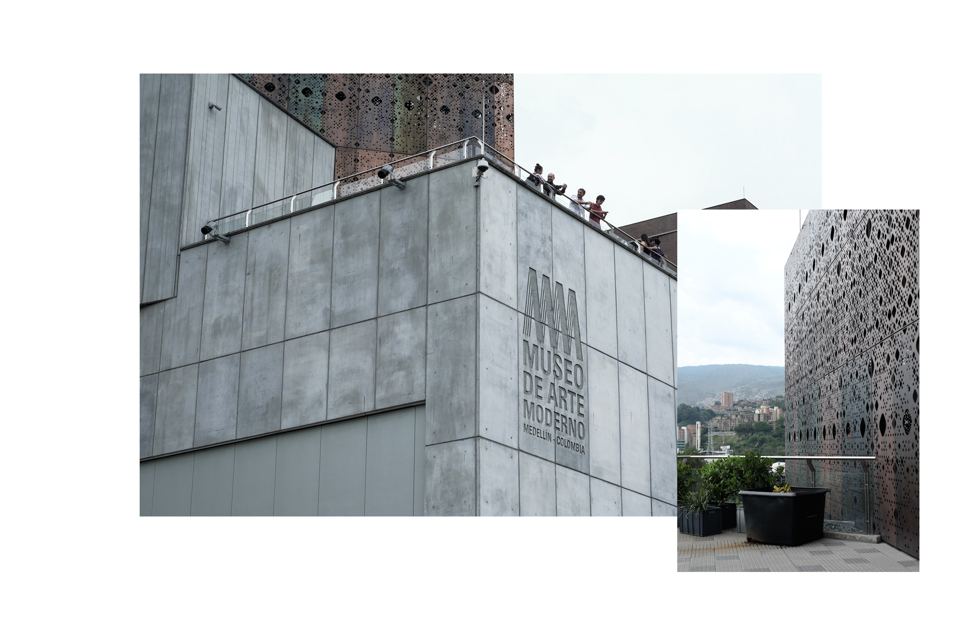 museo arte moderne concrete grey