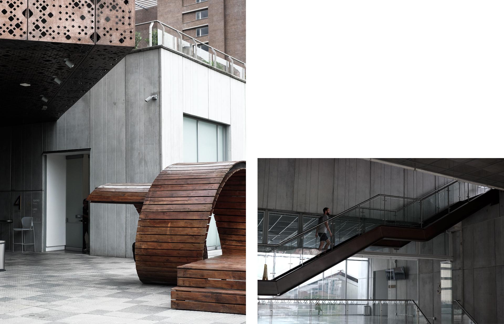 museo arte moderno medellin architecture grey
