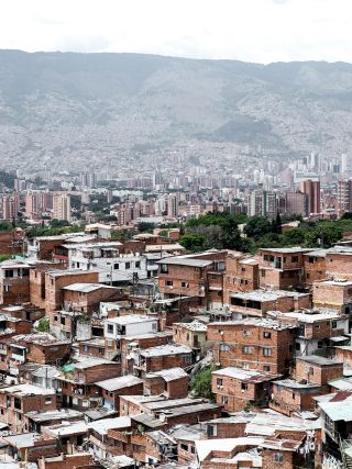 view of the city of Medellin colombia