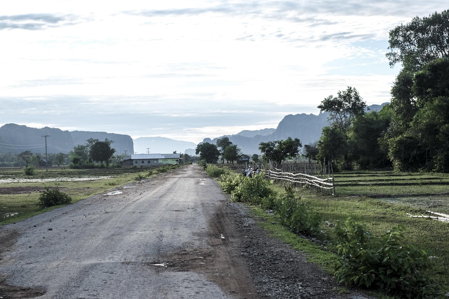 The loop landscape laos