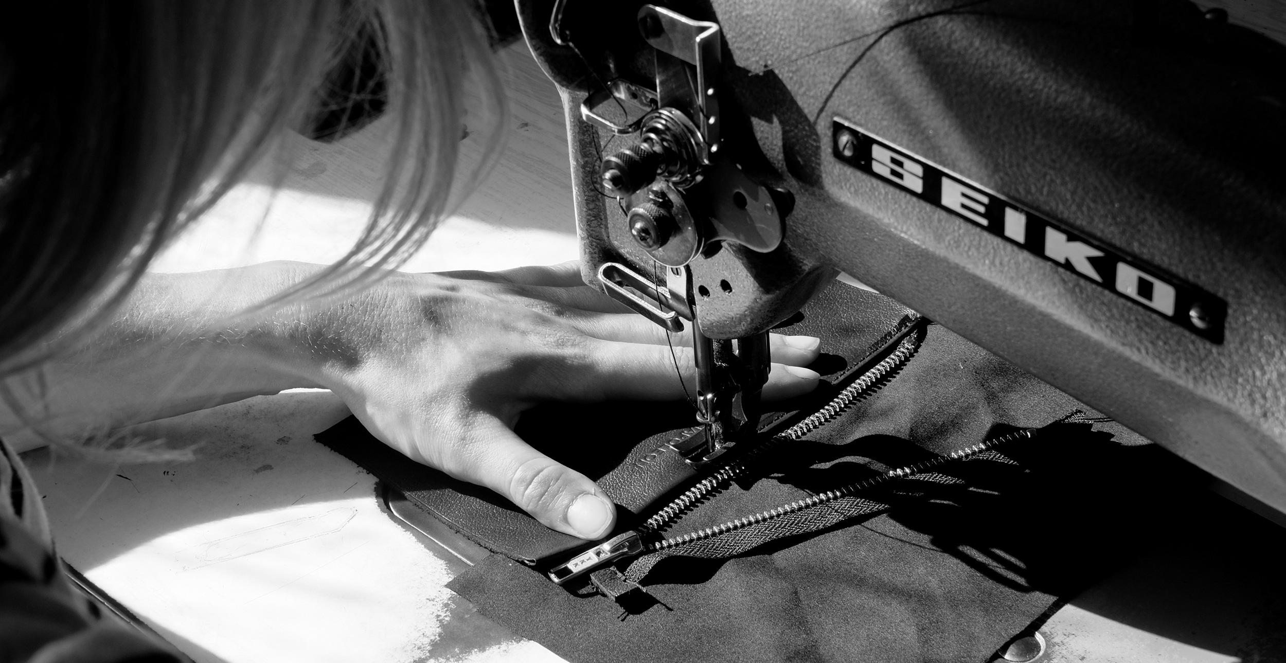 creative studio house of napoleon hand sewing leather