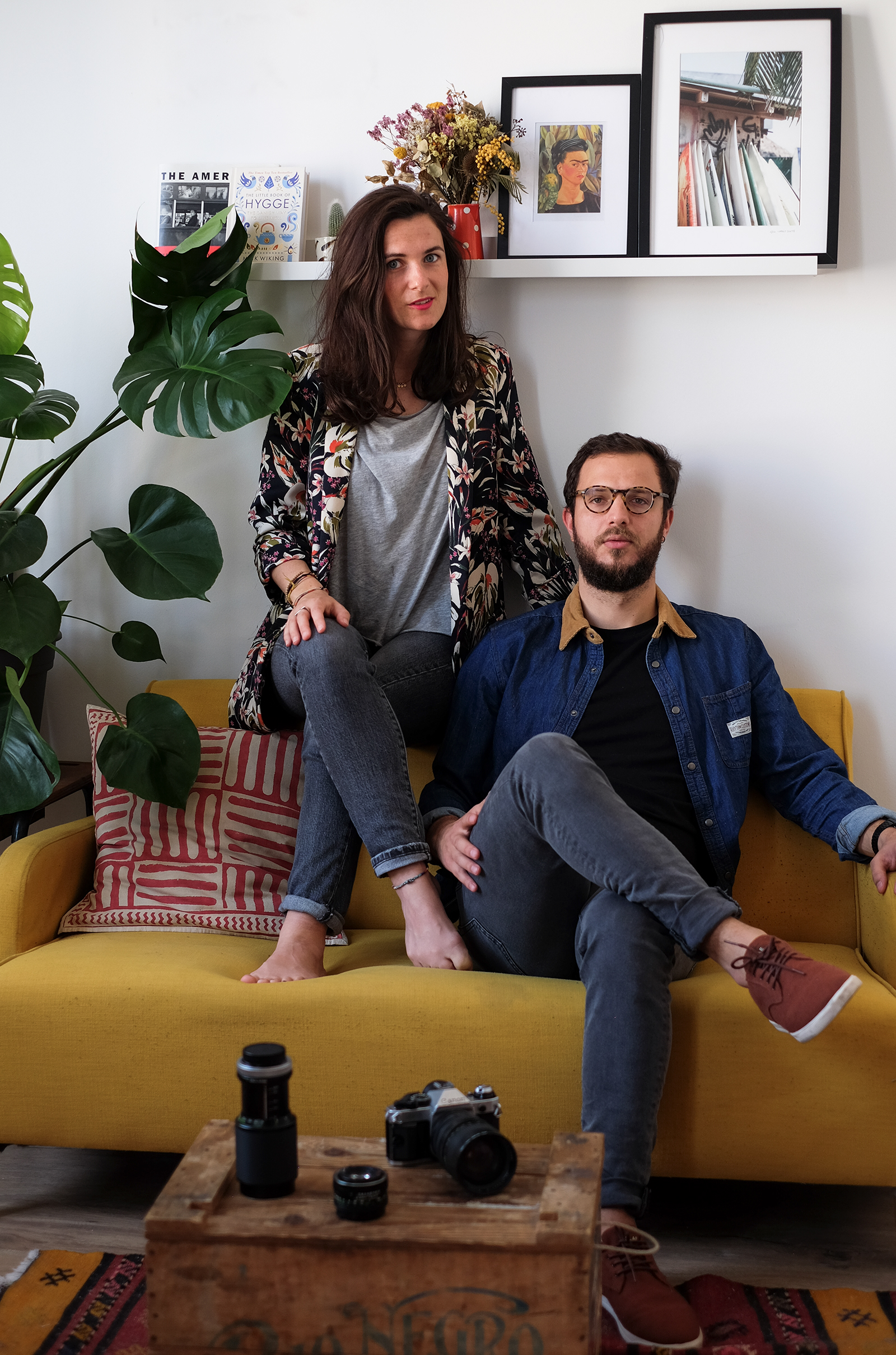 Floriane dupont and basilio papadakis portrait