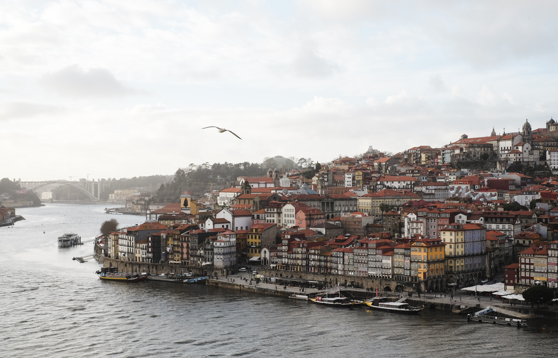 Porto view from the brige