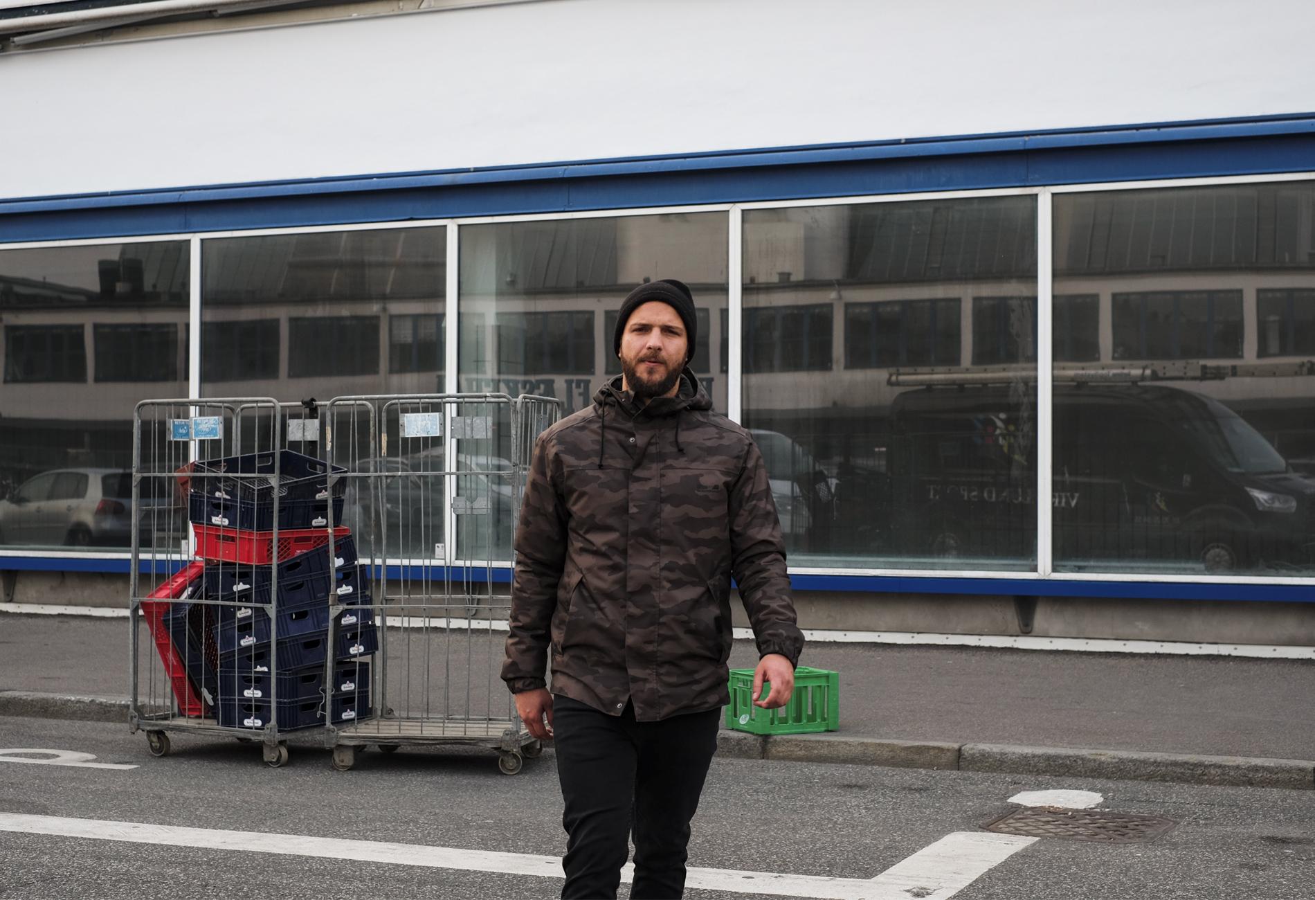 basilio walking