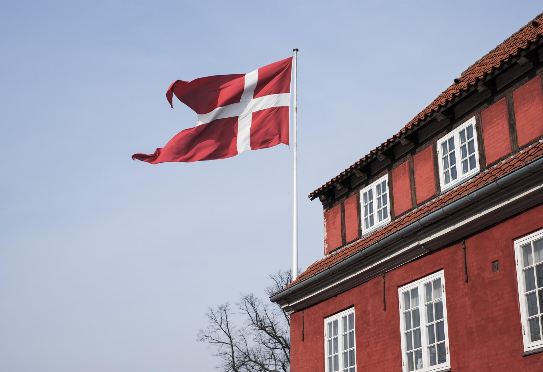 Danish flag red