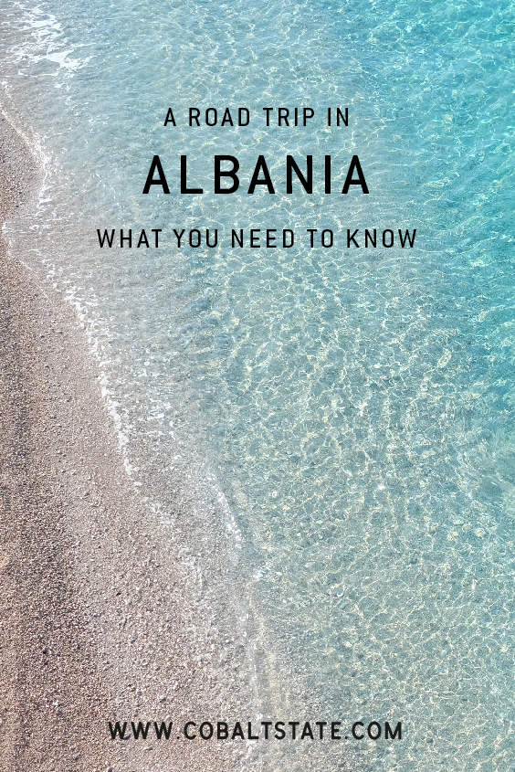 a road trip in Albania, things to know, turquoise water