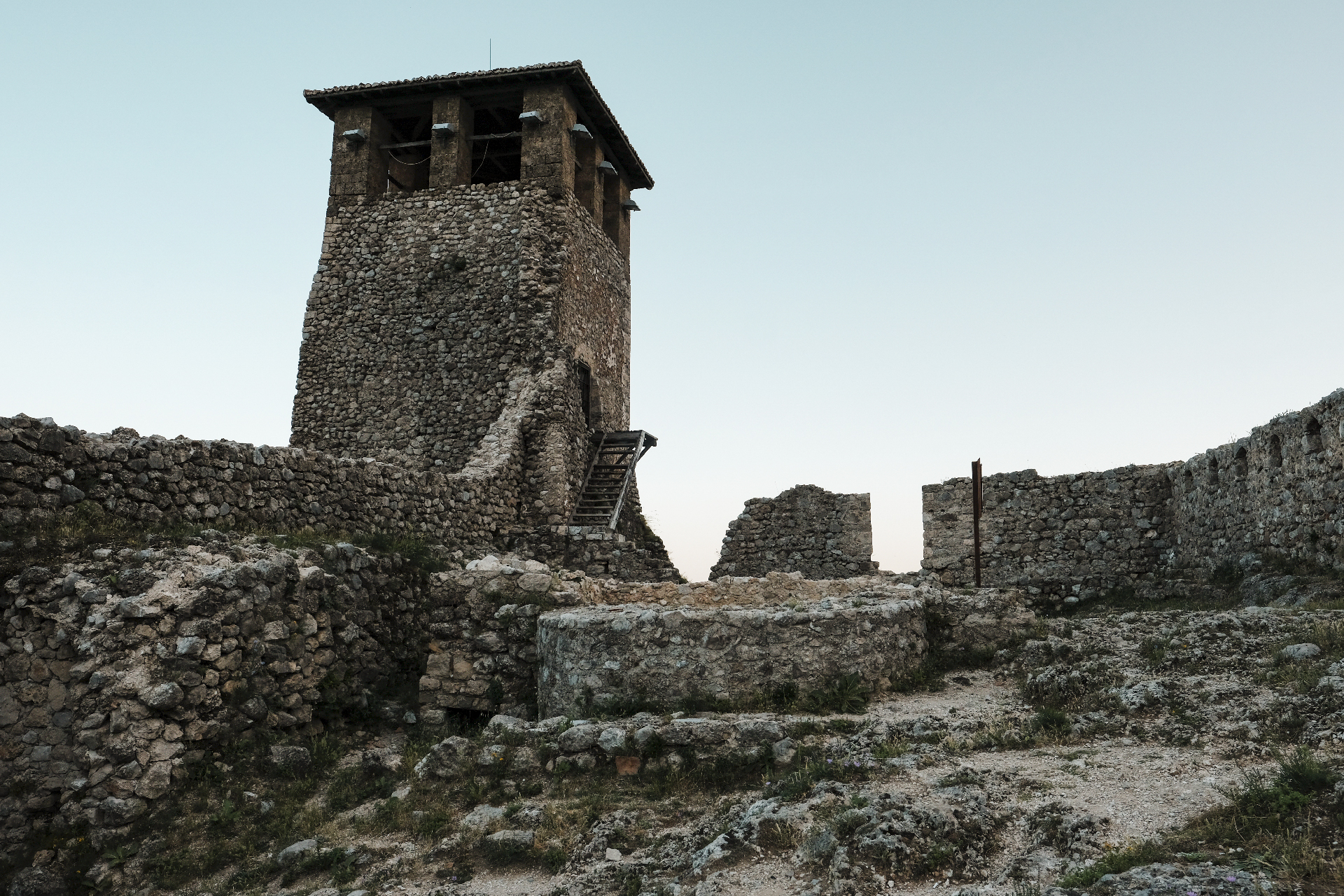 Tower Of the Castle of Krujë