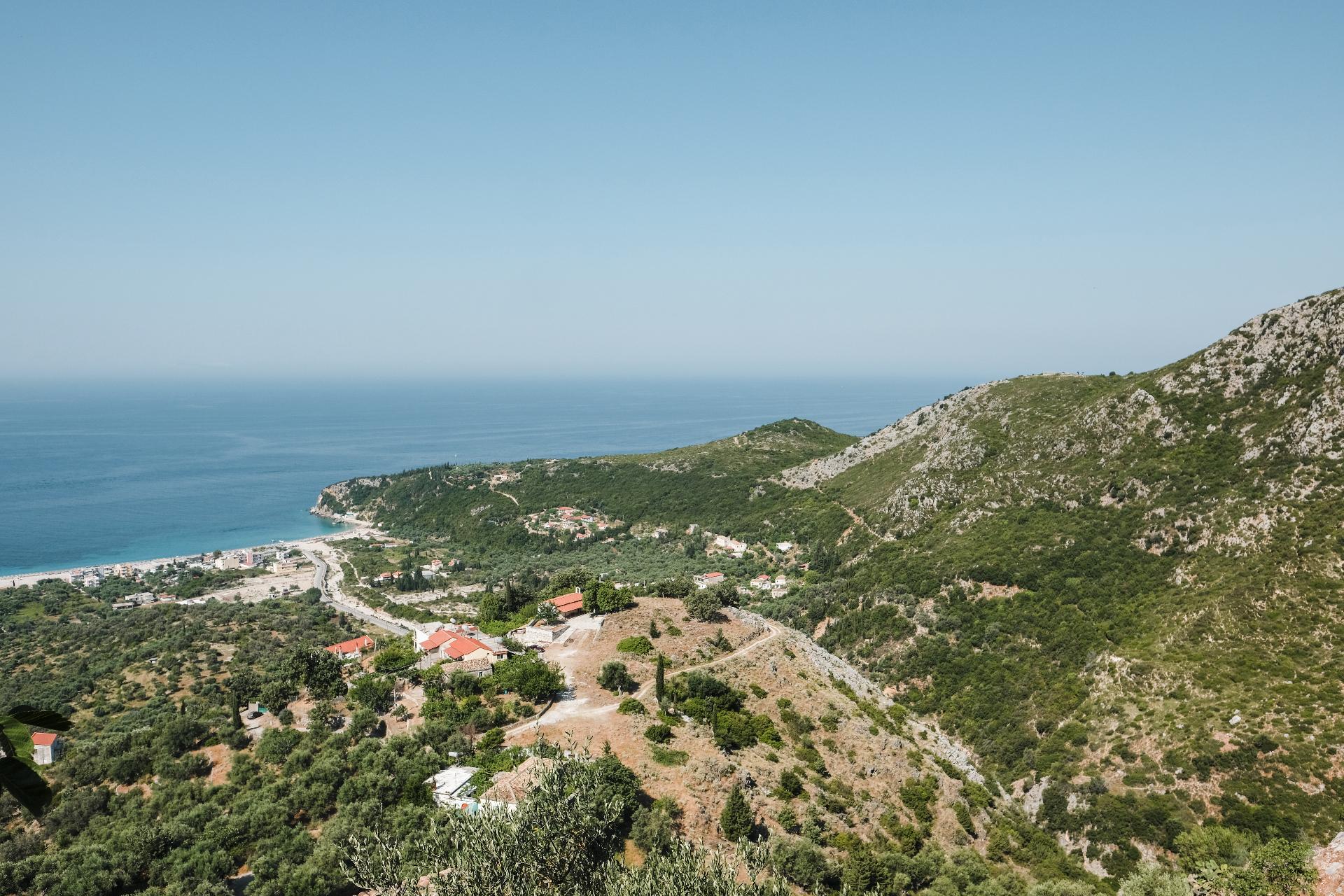 Albania road trip, landscape and beach