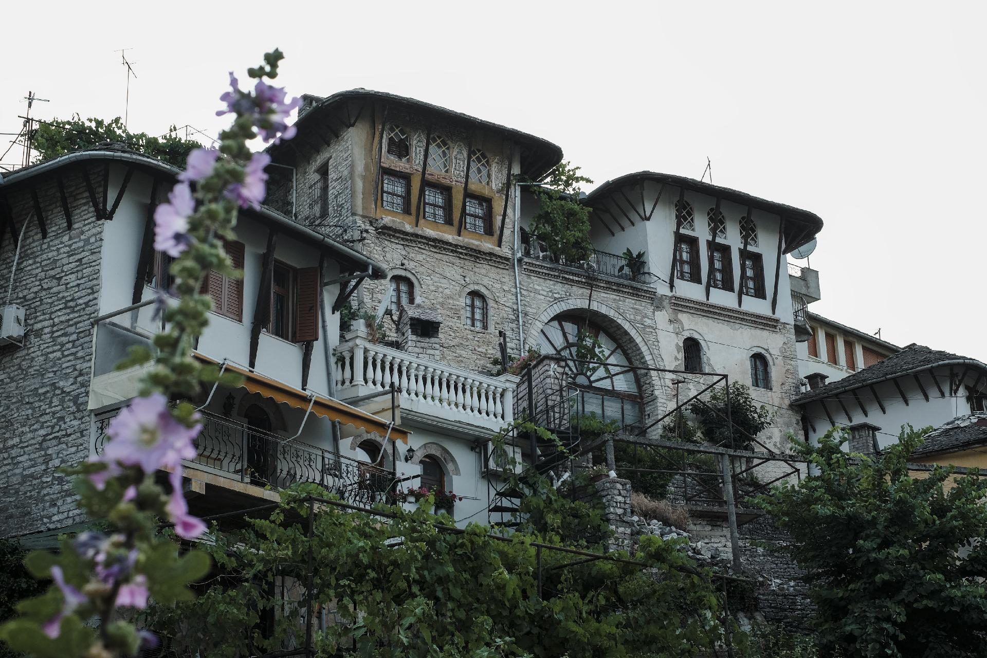 Ottoman style house in Gjirokastër
